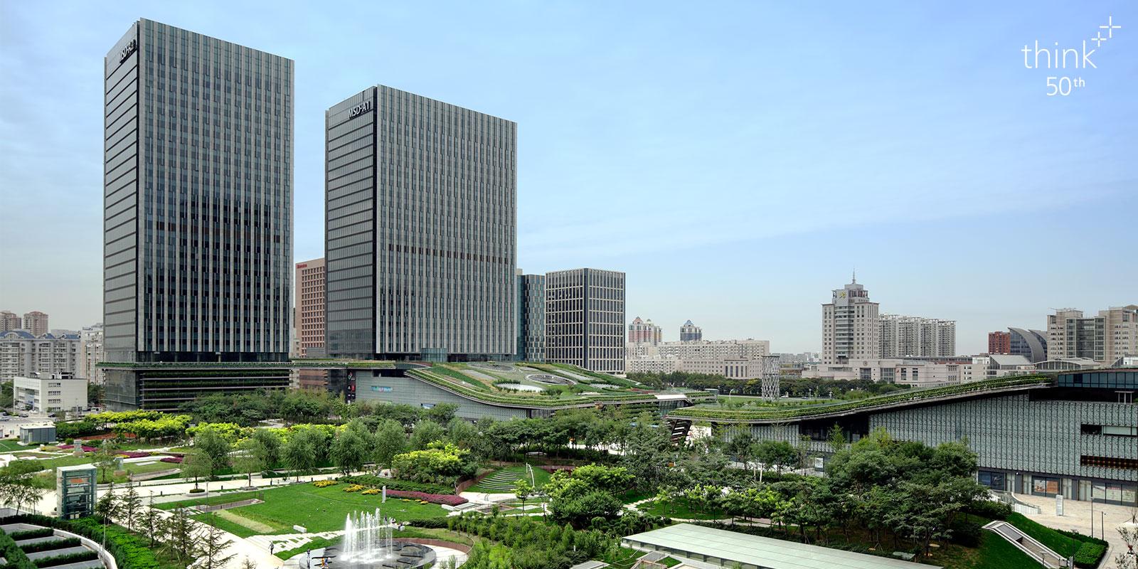 Tianjin TEDA MSD Complex Development Project 2013