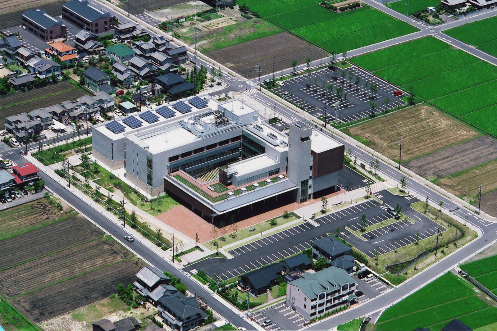 川越町庁舎