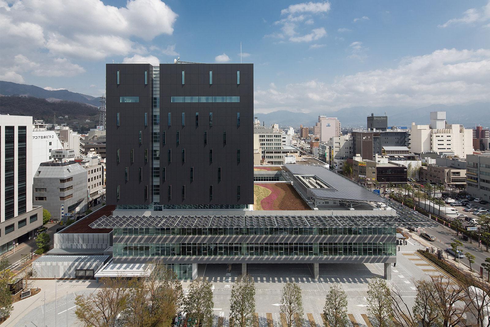 甲府市庁舎 | PROJECTS | 株式会社 日本設計