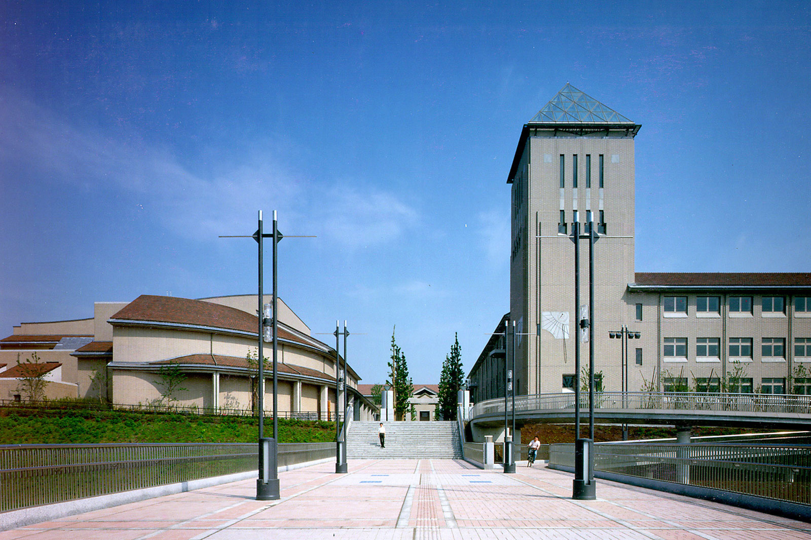 東京都立大学(現 首都大学東京南大沢キャンパス)
