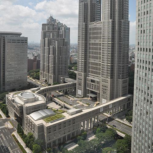 東京都庁舎 改修計画
