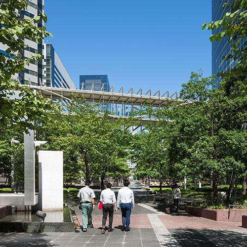 Shinagawa Central Garden<br /> Tokyo, Japan