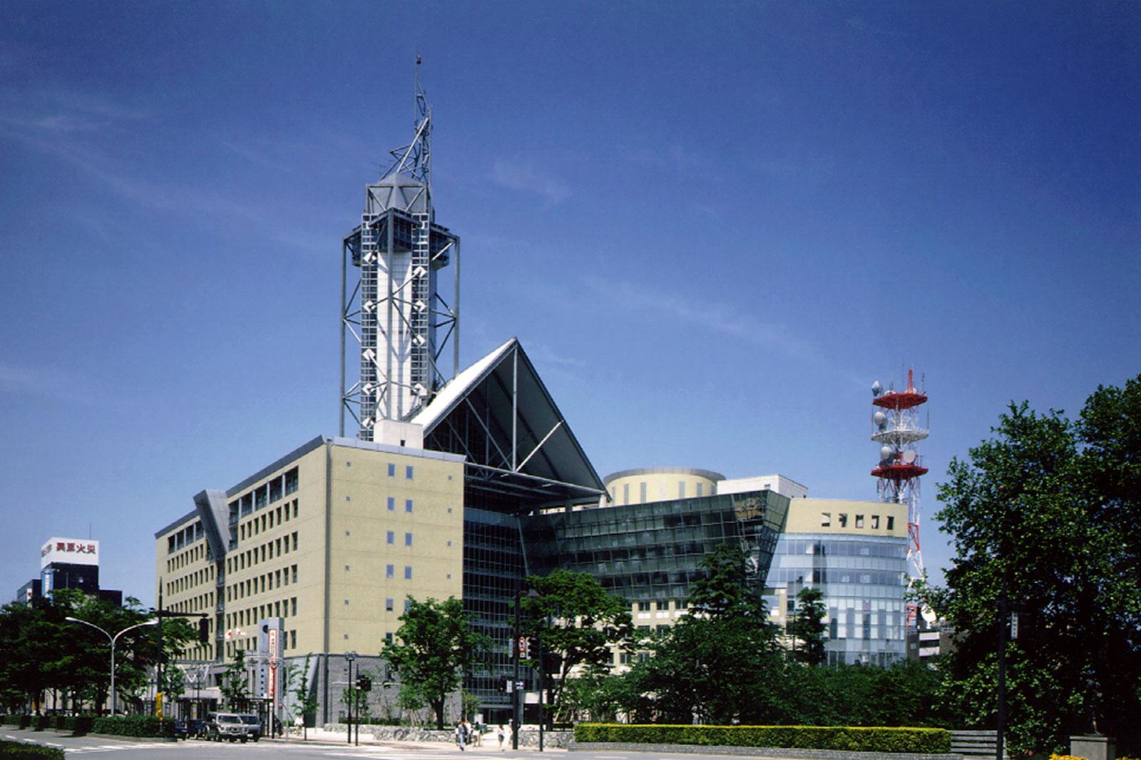 富山市庁舎