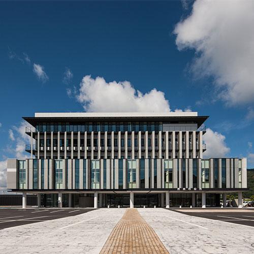 雲南市役所新庁舎