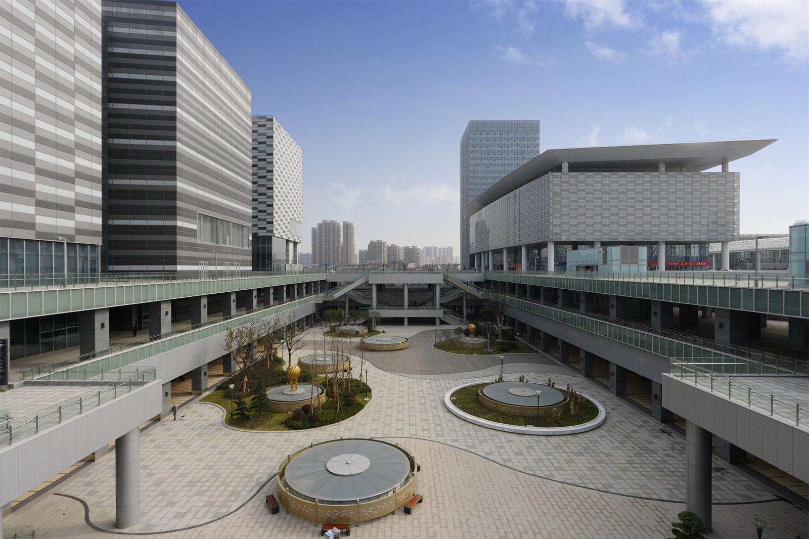 無錫中央駅TODプロジェクト