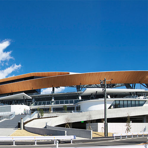 Todoroki Athletics Stadium Main Stand<br />