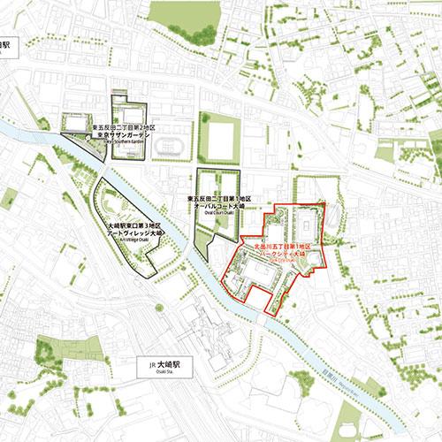 Community Development of Higashi Gotanda