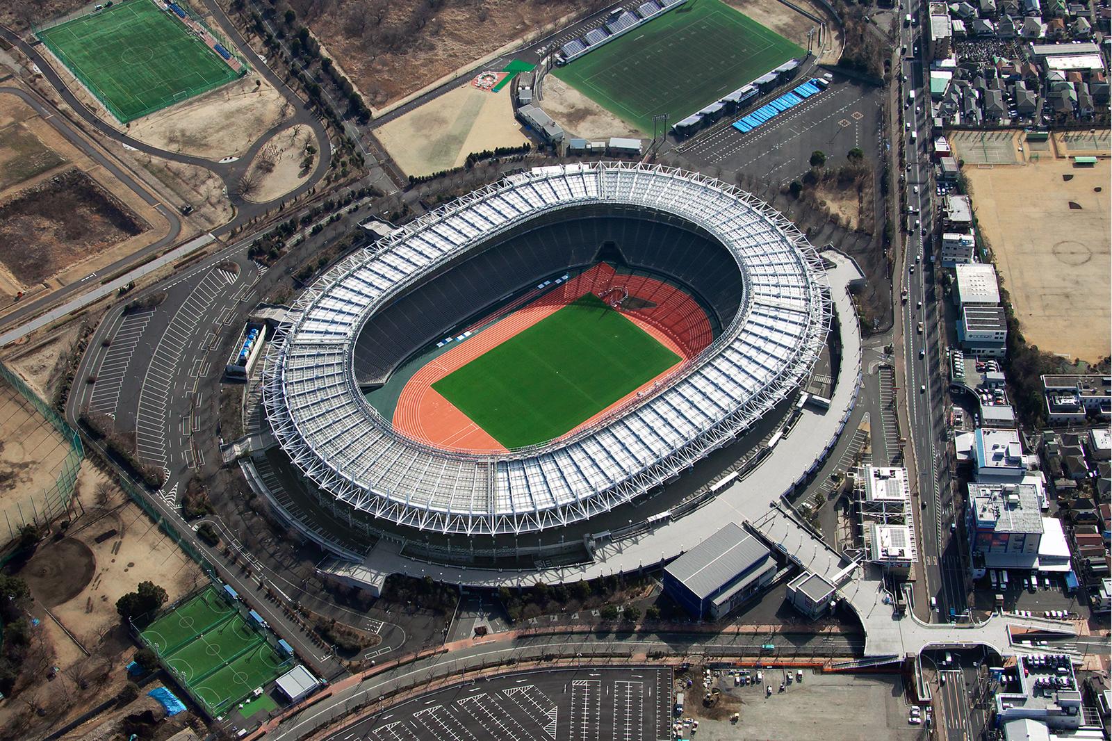 東京スタジアム(現 味の素スタジアム )