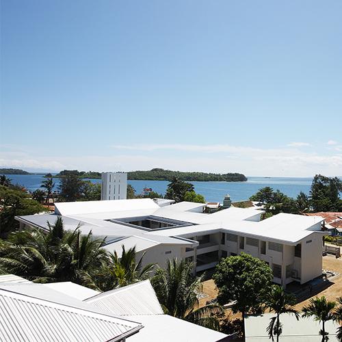 ソロモン諸島国 <br /> ギゾ病院 再建計画