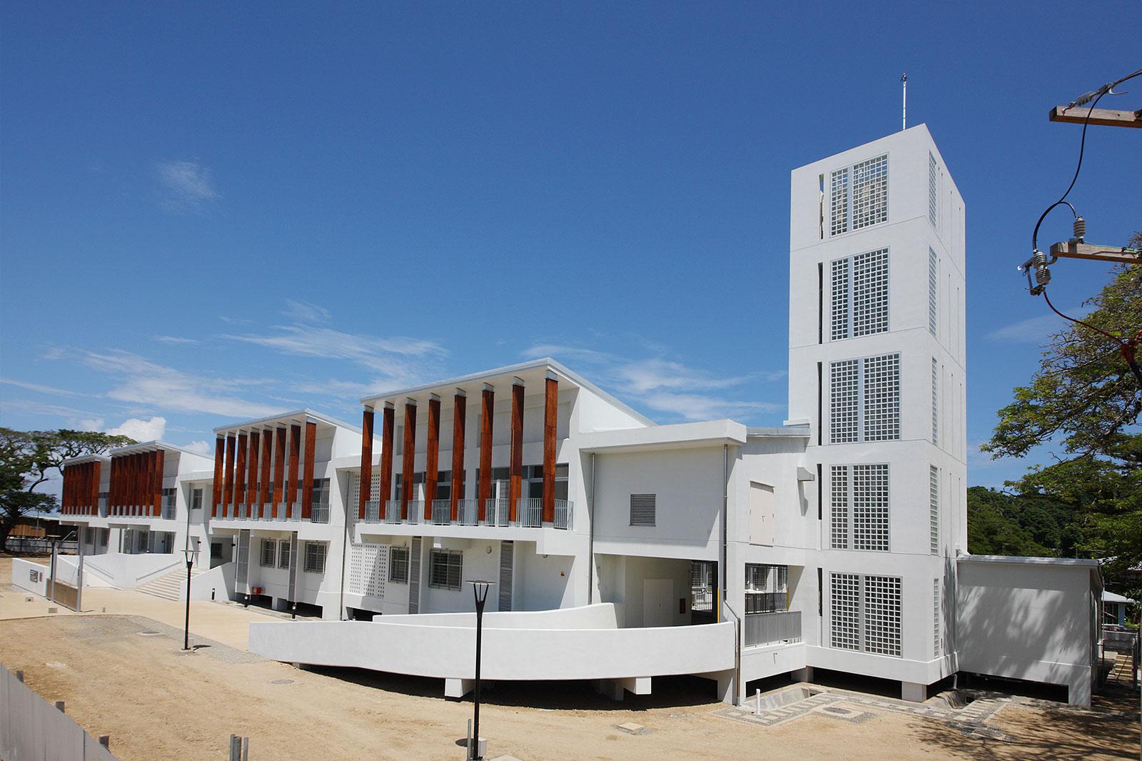 ソロモン諸島国 ギゾ病院 再建計画
