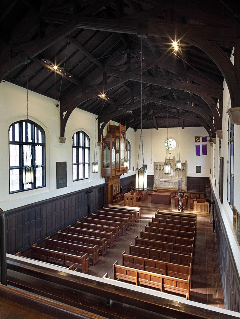 立教大学 諸聖徒礼拝堂 (改修)