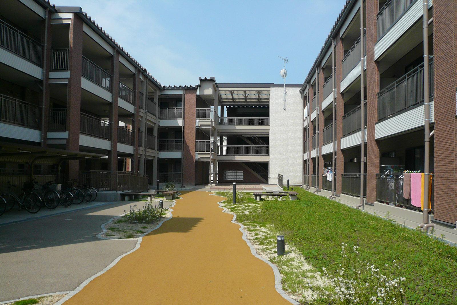 釜石市上中島町復興住宅 Ⅰ期計画