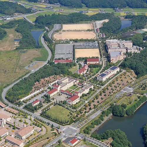 関西学院 キャンパス計画<br /> 西宮上ヶ原 神戸三田