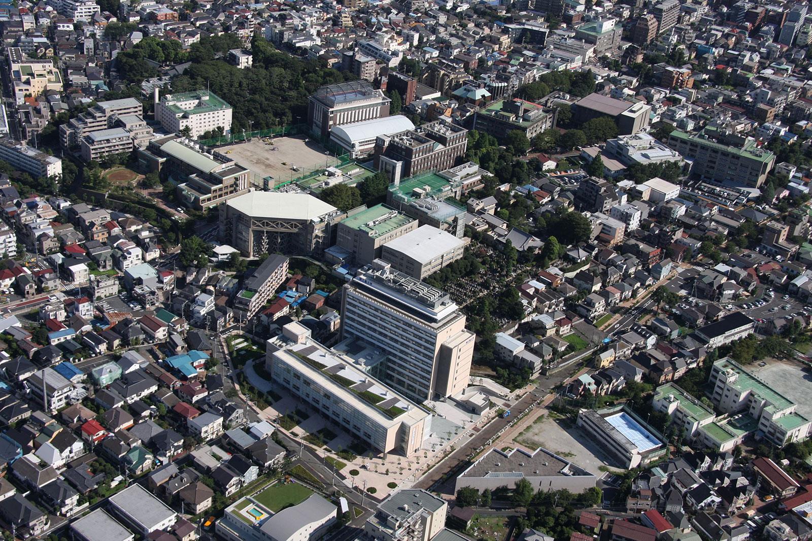 国士舘大学 世田谷キャンパス 梅ヶ丘校舎