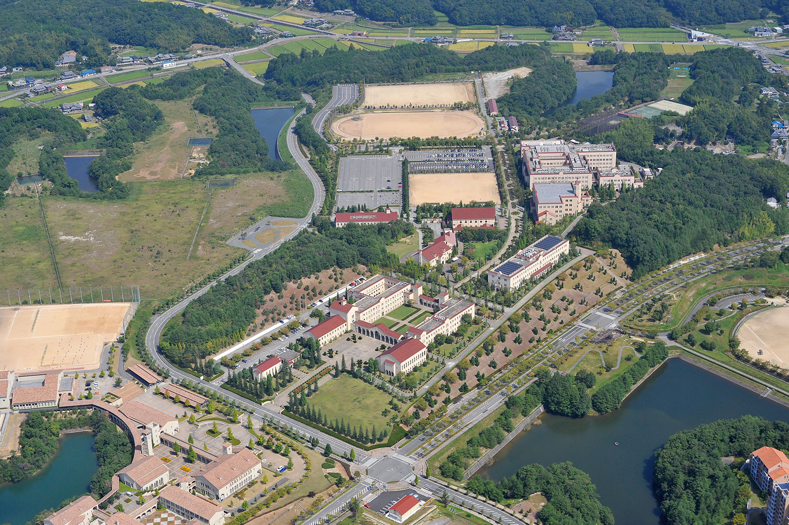 関西学院 西宮上ケ原 神戸三田 キャンパス計画