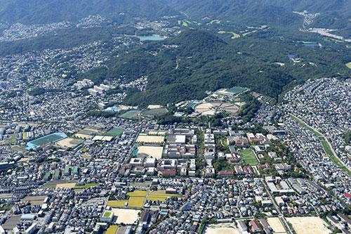 WEB500関西学院上ノ原キャンパス空撮