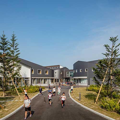 Nishihakusandai Elementary School<br /> Aomori, Japan