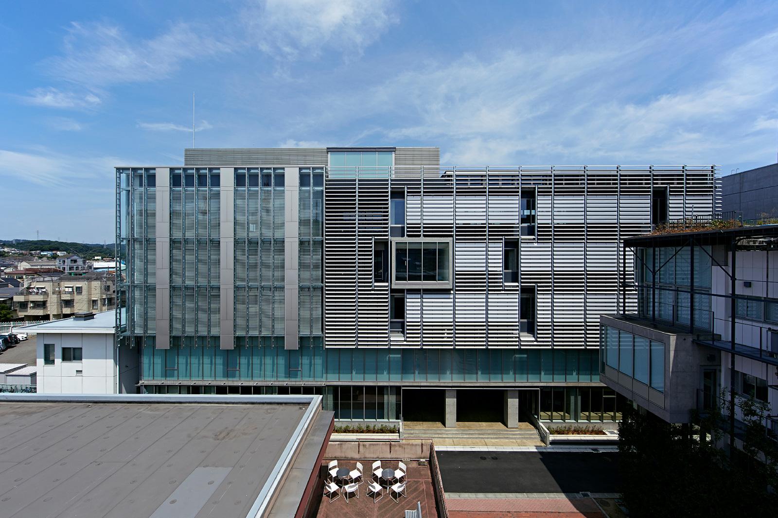関東学院大学金沢八景キャンパス 5号館(建築・環境棟)