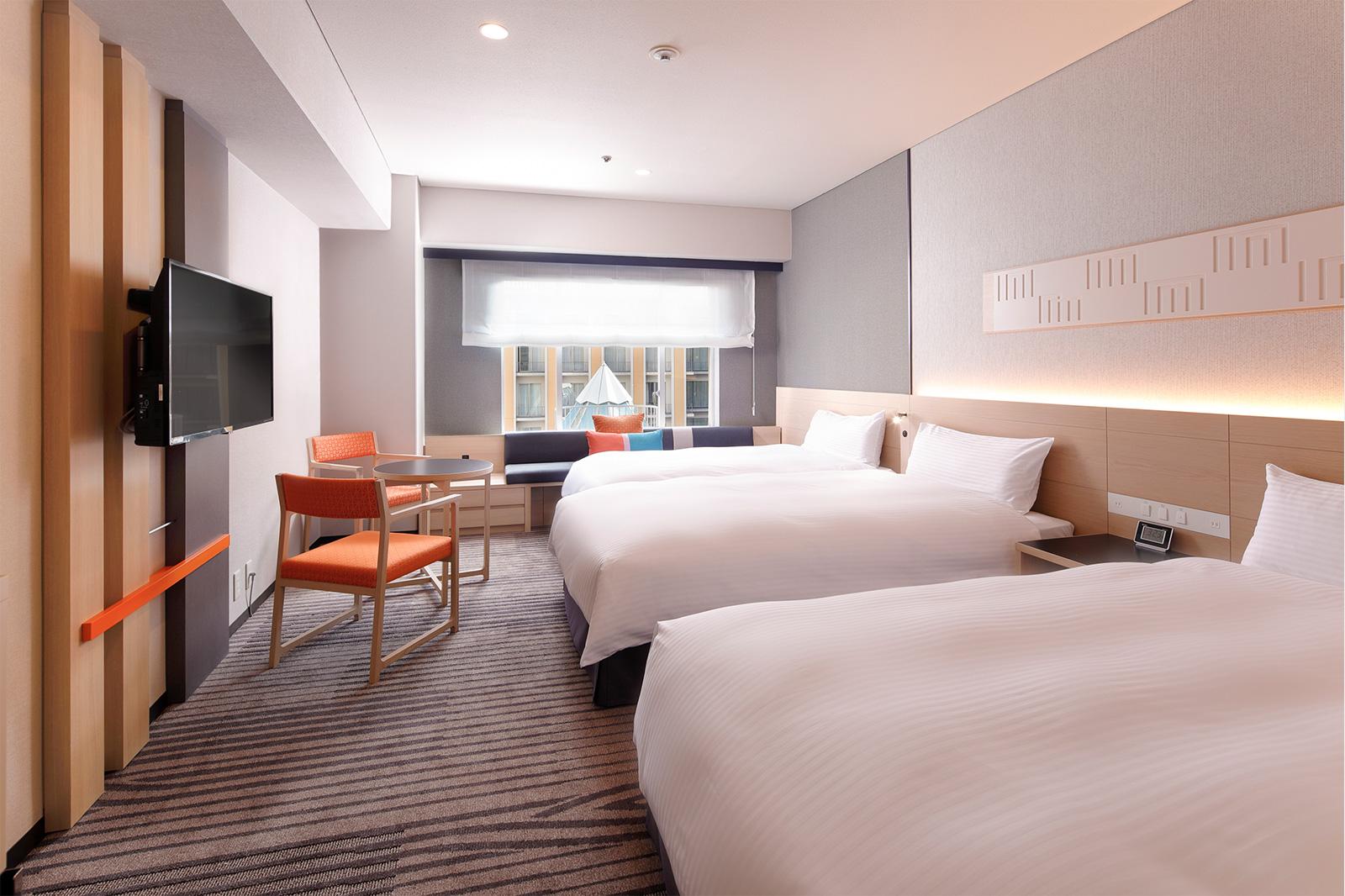新・都ホテル 本館プレミアムフロア客室改修