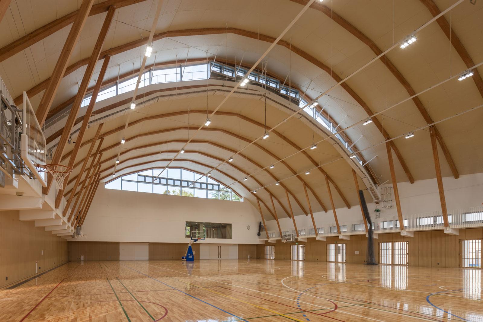 国際基督教大学 新体育施設