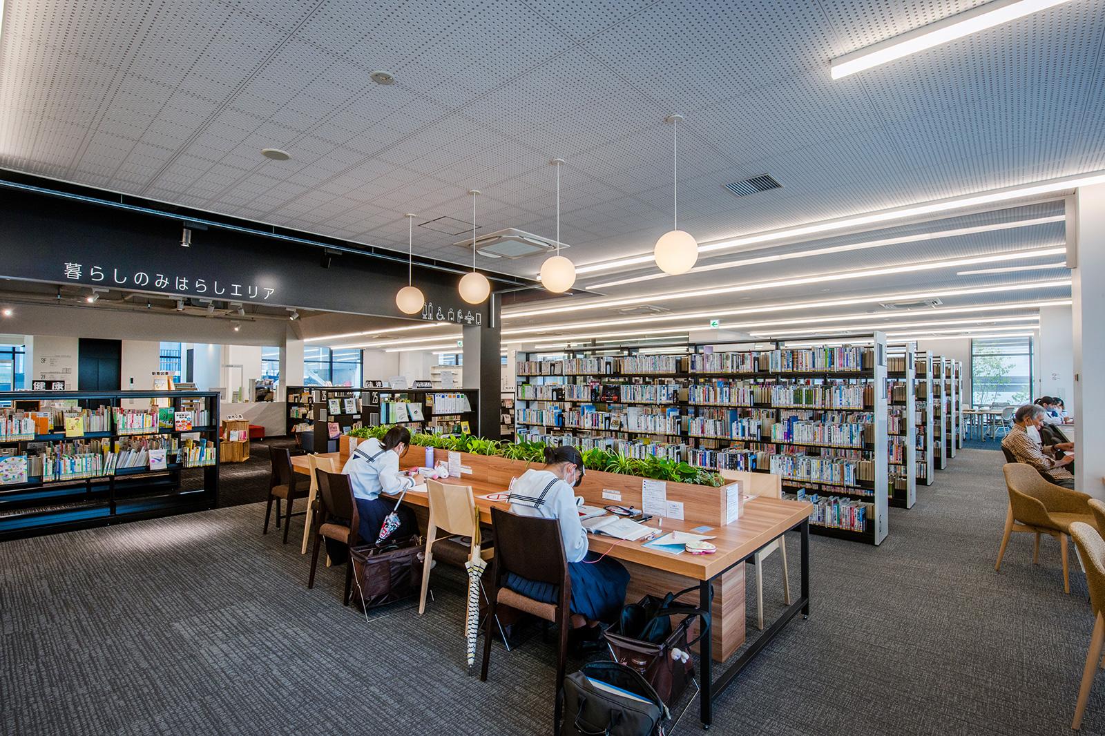 図書館 三原 三原市立図書館